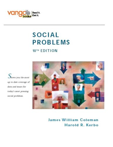 Social Problems VangoBooks 10th Edition