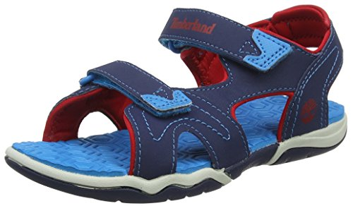 - Timberland Adventure Seeker Navy/Blue/Red Synthetic 13.5 M US Little Kid