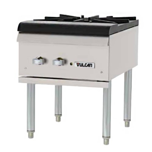 Vulcan Hart Stock Pot Range w/ One Cast Iron Burner Vulcan Stainless Steel Range