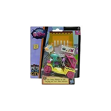 Amazon.es: Hasbro Littlest Pet Shop Mini Moto Amarilla ...