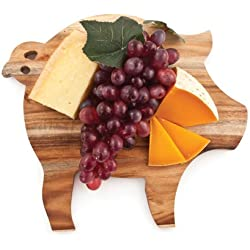 Rustic Farmhouse Pig Cheese Board by Twine