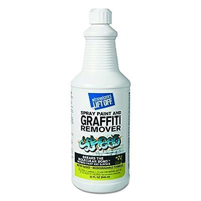 Motsenbocker's Lift-Off 41103 4 Spray Paint Graffiti Remover, 32oz, Bottle (Case of 6)