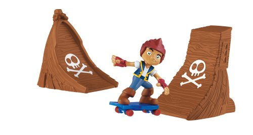 Fisher-Price Jake and the Never Land Pirates - Jake Skate Pack - Fisher Price Skateboards
