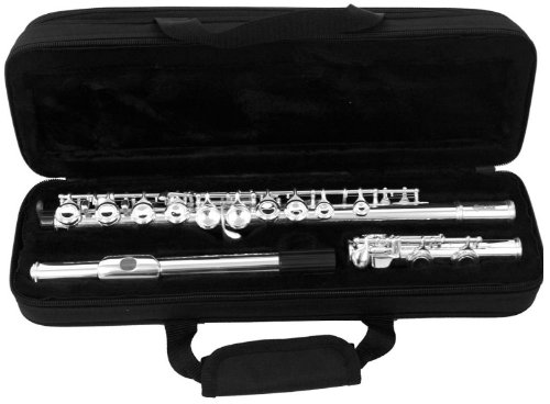 Mirage TF44N Forged, Nickel Finish Key of C Flute with Case