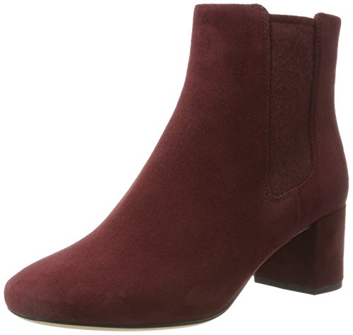Clarks Ladies Orabella Anna Boots Viola (castello In Camoscio)