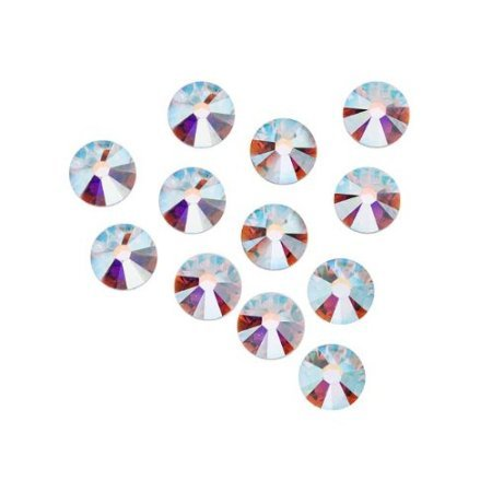7ss 2.2mm Swarovski Elements #2058 Rhinestones Foiled Flatbacks CRYSTAL AB 144 pcs (7ss Swarovski)