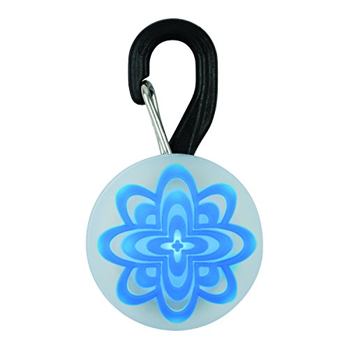 Nite Ize Petlit Luz para Collar de Mascota, Diseño Blue Burst