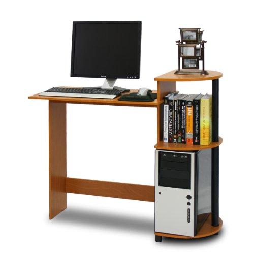 Furinno 11181LC/BK Compact Computer Desk