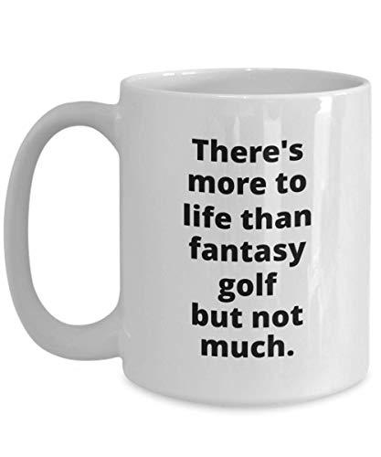 Funny Fantasy Golf Player Gift Mug gift for golfer gift for him