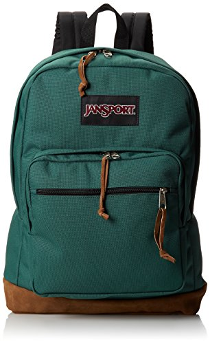 JanSport Womens TYP72D6 Classic Specialty Right Pack Backpack-Barber Green(18 H x 13 W x 8.5 D Inches)