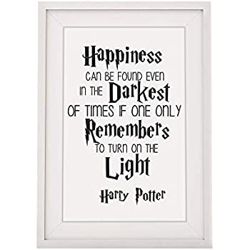 Amazon.com - Harry Potter Inspired Happiness Can Be Found ...
