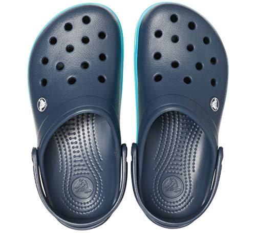 Clog Band Adulto 000 U Zuecos multi Azul Unisex Crocband navy Wavy Crocs xgwtqSW