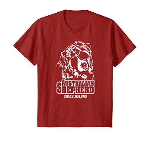 Kids Funny cool Australian Shepherd dog Aussie Shirt T-Shirt gift 8 - Sunglasses Australian Kid