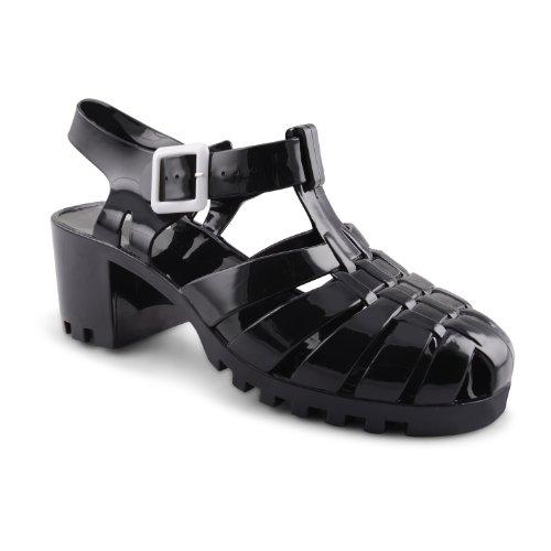 Footwear Sensation - Sandalias de vestir para mujer Blanco blanco crema  Blanco - negro