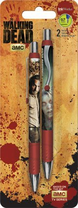 the-walking-dead-gel-pens-2-pk