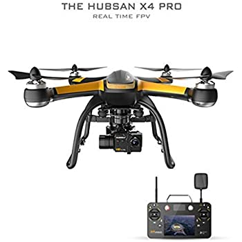 HUBSAN H109S X4 Pro 5.8GHz FPV With 1080P HD Camera 6 Axis Gyro and 3 Axis Gimbal Rotation GPS RC Quadcopter High Edition