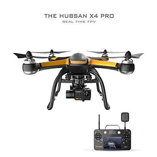 HUBSAN H109S X4 Pro 5.8GHz FPV With 1080P HD Camera 6 Axis Gyro and 3 Axis Gimbal Rotation GPS RC Quadcopter High Edition by HUBSAN