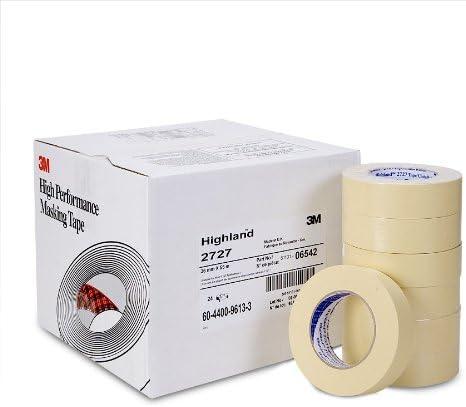 3M 06542 Highland 2727 36 mm x 55 m Masking Tape