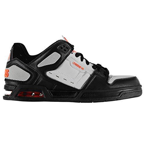 Osiris Da Uomo Peril Grigio Sportive arancione Skateboard Scarpe UwqUI8r