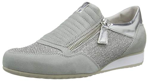 Stringate Gabor Basic Lgrey Arg Scarpe Donna Silber Derby Comfort Multicolore A P1Pxnr4