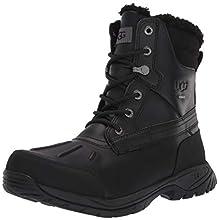 UGG Men's Felton Snow Boot, Black, 12 M US