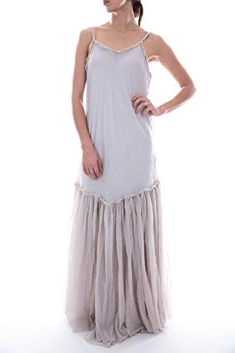 Anya Slip - Magnolia Pearl European Cotton and Tulle Anya Slip with Adjustabl