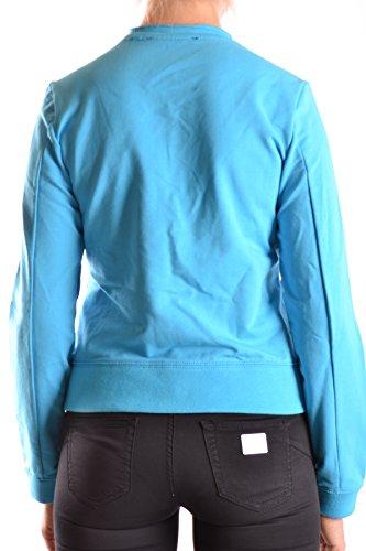 Etiqueta Negra Mujer MCBI118071O Azul Claro Algodon Sudadera