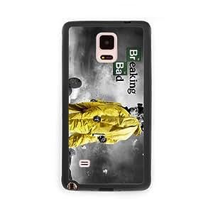 Breaking Bad F4F6RN9K Caso funda Samsung Galaxy Note 4 Caso funda del teléfono celular Negro