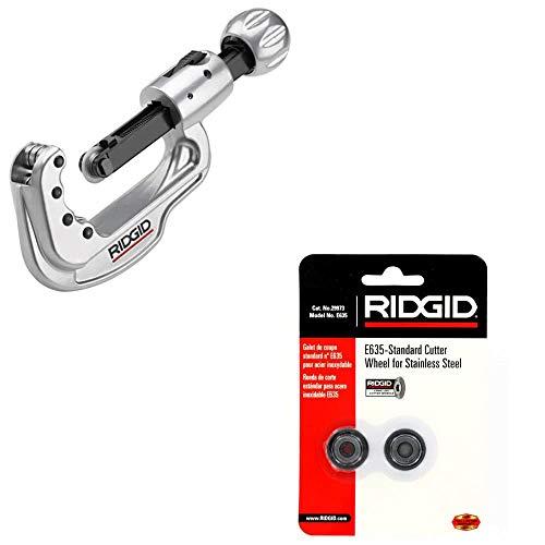 Ridgid 31803 65S Quick-Acting Tubing Cutter & Ridgid 29973 E635 Cutter Wheel