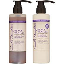 Carol's Daughter Black Vanilla Hair Care Gift Set for Dry/Dull & Brittle Hair