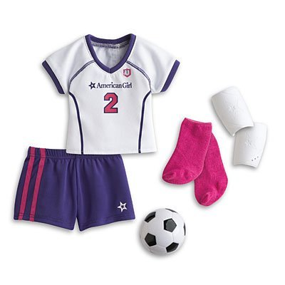 3608ab65c82 Image Unavailable. Image not available for. Color: American Girl My AG  Soccer Outfit + Charm