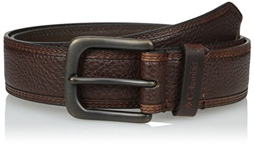 Columbia Men's 38mm Casual Belt, Brown, (Columbia Brown Belt)