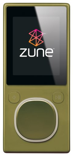 Zune 8 GB Digital Media Player Green