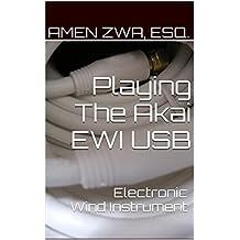 Playing The Akai EWI USB Electronic Wind Instrument (2015-10-16)