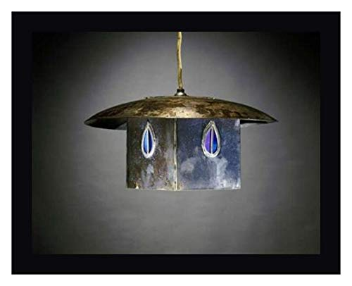 A Metal and Leaded Glass Hanging Shade by Charles Rennie Mackintosh - 31