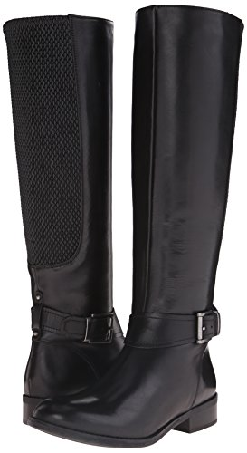 889304596620 - Clarks Women's Pita Dakota Western Boot, Black Leather, 9 M US carousel main 5