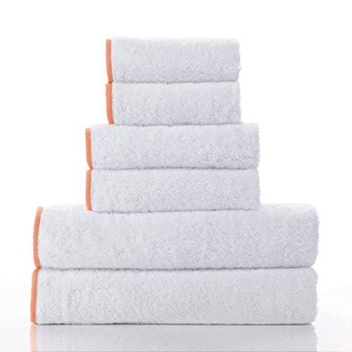 Macouba Bathroom Towel Set by Superior Quality 600GSM White
