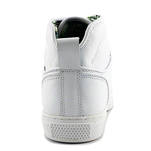Vans Mens Alomar Reptile Sneakers whitewhite 11 LWsmGi
