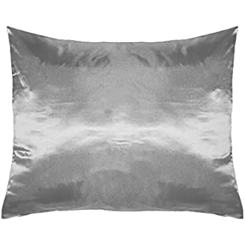 Amazon Com Betty Dain Satin Pillowcase Single Slate