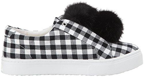 Sam Edelman Damen Leya Sneaker Black/White Gingham Print