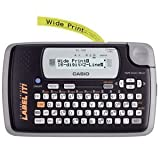 Casio KL-120 Label Maker. 16-DIGIT X 2LINES LABLEL PRINTR LCD DISPLAY LABL-P. 6mm/s - Thermal Transfer - 200 dpi Auto Power OFF