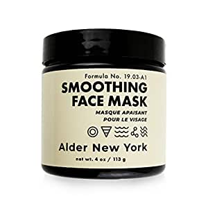 Smoothing Face Mask- Fine Line Reducing Hyaluronic Acid & Sea Fennel Exfoliating Mud Face Mask