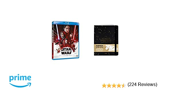 The Last Jedi Blu-Ray + Star Wars- Agenda 16 Meses 2018/2019 ...
