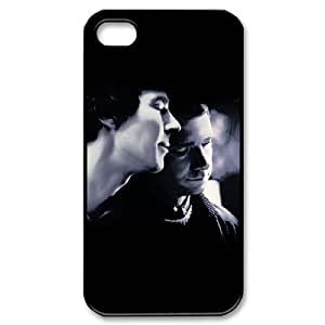 C-EUR Customized Print Sherlock Pattern Back Case for iPhone 4/4S