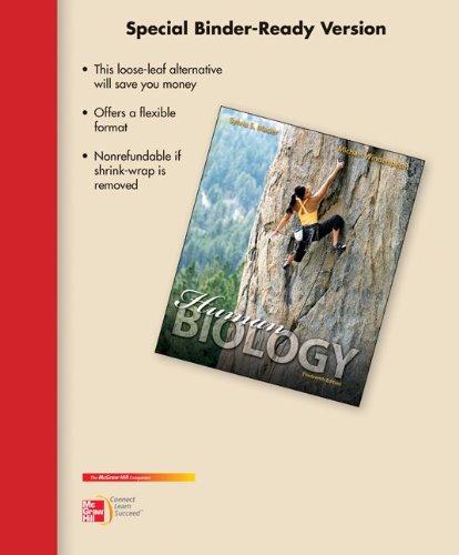 Download Loose Leaf Version for Human Biology book pdf