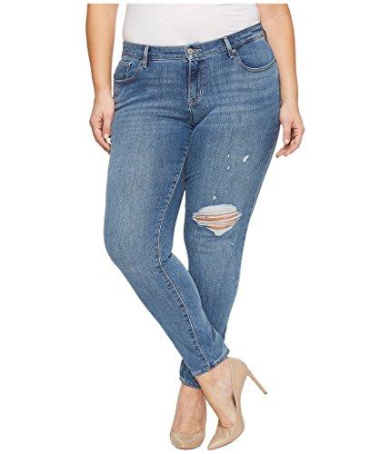 Levi's Women's Plus Size 711 Skinny Jeans, Outta Time, 38 (US 18) R Levis Plus Size Jeans