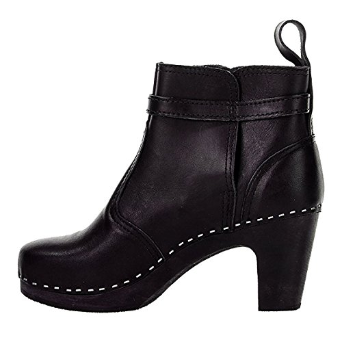 shop offer cheap price Swedish Hasbeens Women's 465 Ankle Boot Black/Black Sole clearance fake uoRWWm41