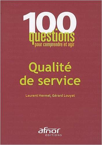 Lire Qualité de service pdf ebook