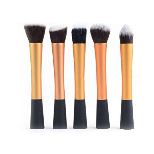 ROSENICE 5pcs Cosmetic Makeup Brush Contour Brushes Powder Cream Concealer Brush Kit by ROSENICE