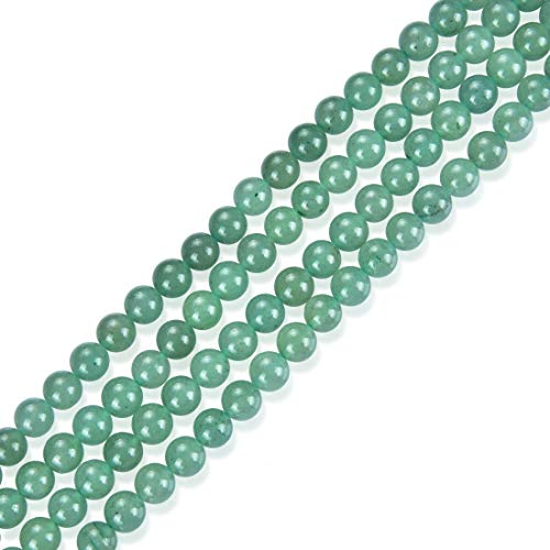 Top Quality Natural Green Aventurine Gemstone 10mm Round Loose Stone Beads 15 Inch for Jewelry Craft Making GY5-10